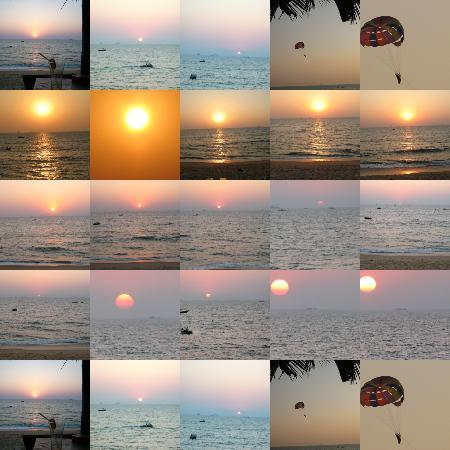 Vivanta by Taj - Holiday Village, Goa: A beautiful sunset from the Taj beach