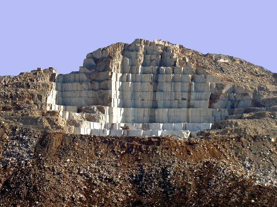 Naxos, Griechenland: The Marble Quarries