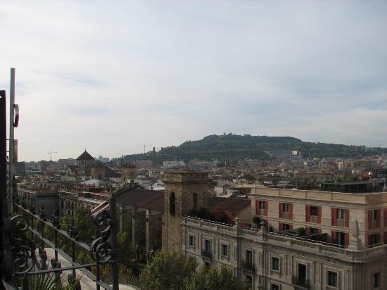 Hotel Montecarlo Barcelona: roof view