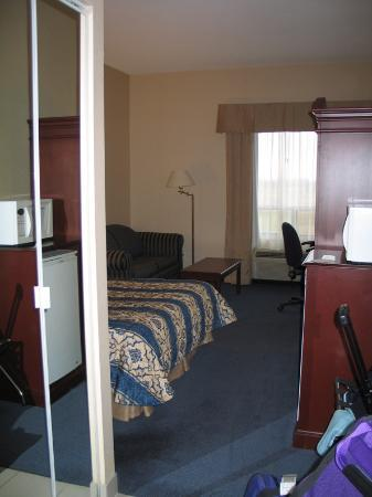 Best Western Plus Travel Hotel Toronto Airport: From the door of the room