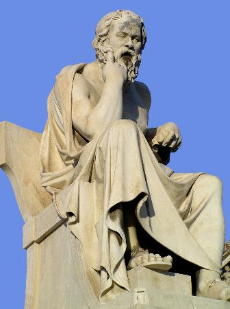 Athens, Greece: Ancient philosopher