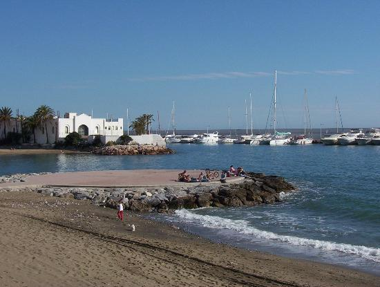 Gran Melia Don Pepe: Marbella small port area