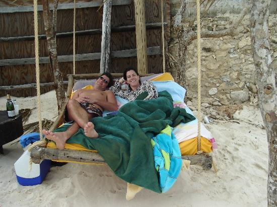 Cabanas Copal: What to do on a cool day at the beach.