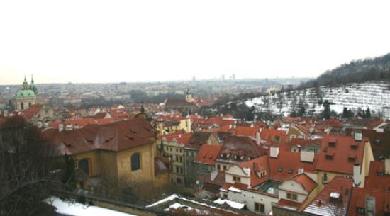 Boutique Hotel Seven Days : View overlooking Prague