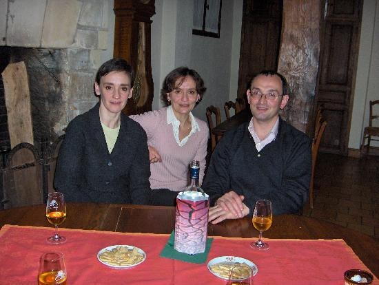 Hotel Diderot: Your hosts - Francoise, Martine and Laurent