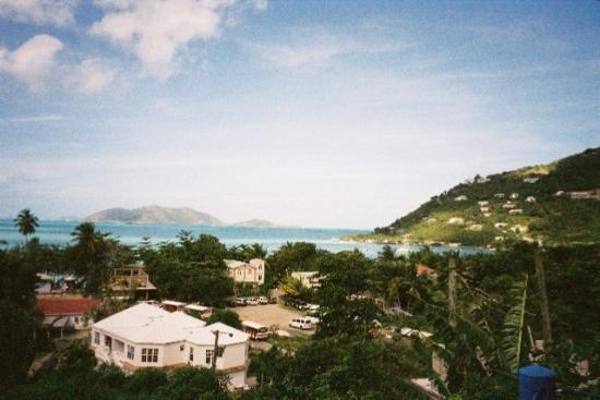 View of Cane Garden Bay from Agape Cottages
