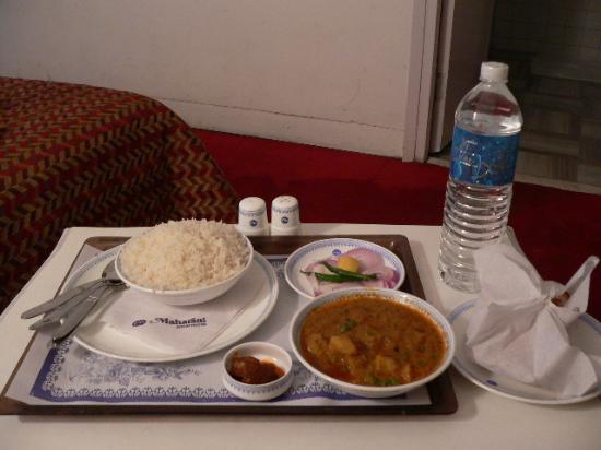 Vegetarian Meal at Maharani Guesthouse