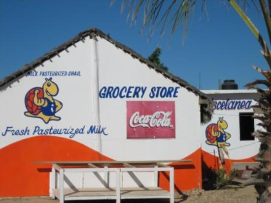 Cabo Pulmo, Μεξικό: Local Store for Milk and Eggs