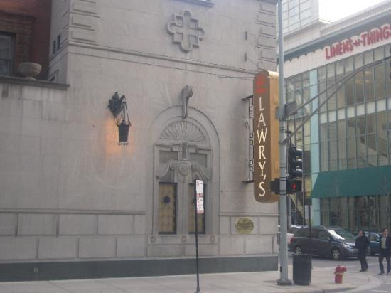 AC Hotel Chicago Downtown: Lawry's prime rib across the street