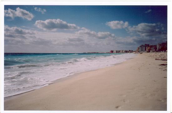 Crown Paradise Club Cancun: The Beach At Crown Paradise