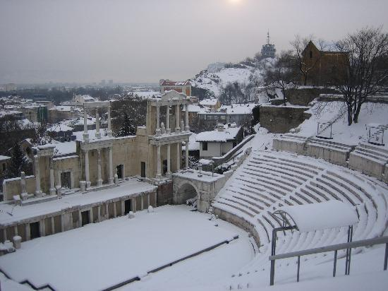 Plovdiv Old Town : Roman ruins