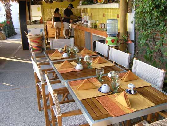 Villa Bella Bed and Breakfast Inn: Ready for breakfast