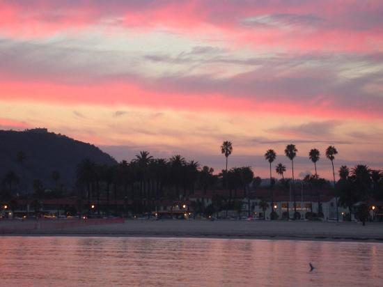 Santa Barbara, Californie : Sunset