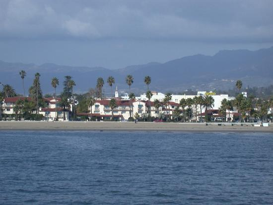 Santa Bárbara, CA: Santa Barbara as Seen From Stearns Wharf