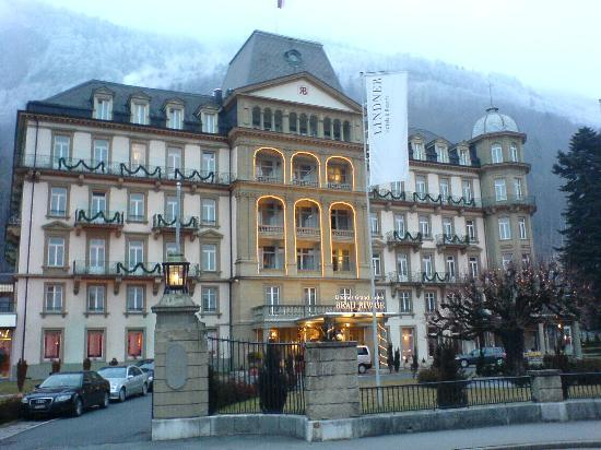 Pool And Gym Picture Of Lindner Grand Hotel Beau Rivage