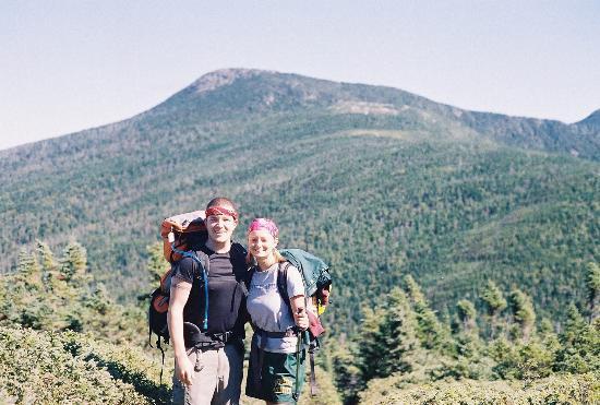 Goose Eye Mountain: Bog view of Goose Eye