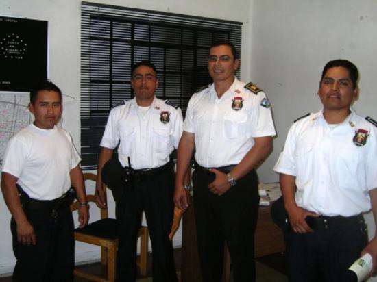 Posada de Chencho: A few of the local tourist police; including the chief. Chencho will tell you where to find...
