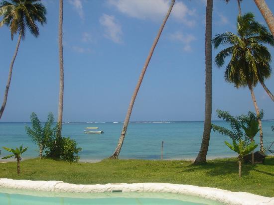 Mango Bay Resort: The view from the restaurent