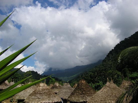 Santa Marta, Colombie : Korgi hut tops