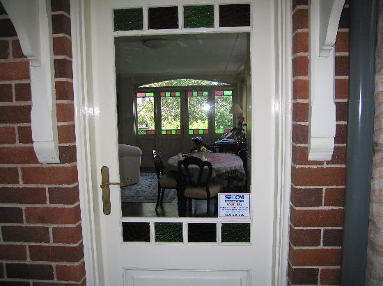 Lofthouse Bed and Breakfast: front door to the apartment