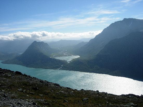 Gala, Norwegia: A hike in Jotenheimen National Park