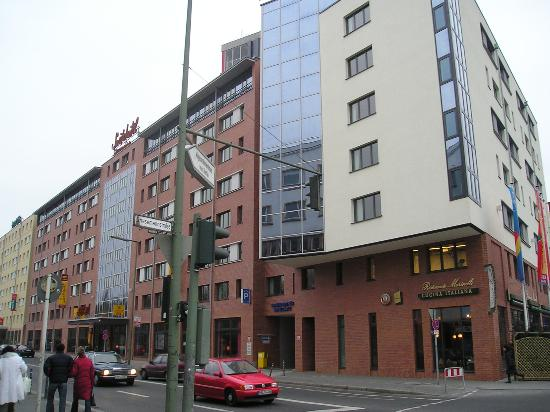 Novotel Suites Berlin City Potsdamer Platz: The Suite Hotel Potsdamer Plz, Berlinat