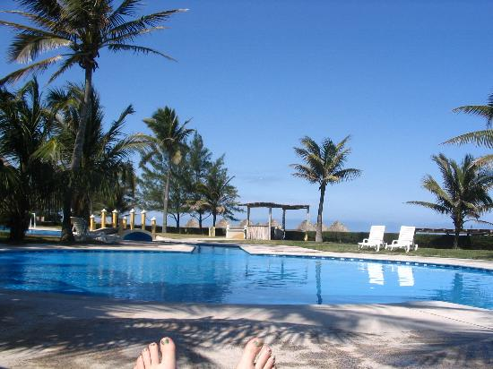 Ciudad Madero, Meksika: Unheated pool