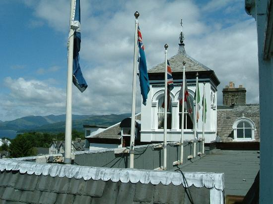 The Hydro Hotel, Windermere: part of the magnificent frontage