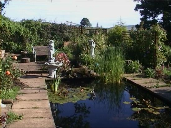 The Old Manse Chatton: Garden at the Old Manse
