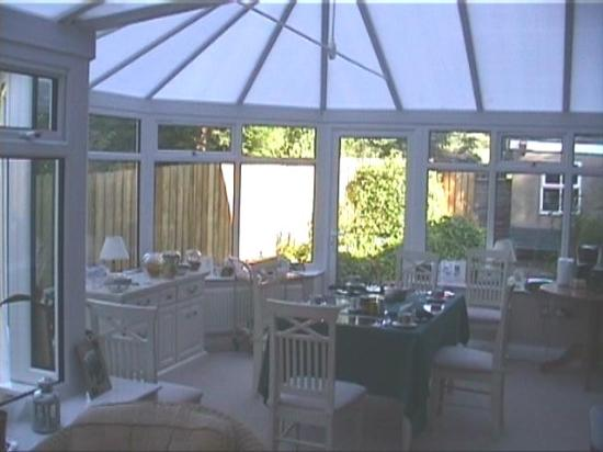 The Old Manse Chatton: Conservatory at the Old Manse