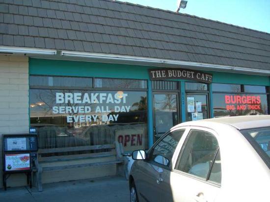 Ломпок, Калифорния: Budget Cafe exterior