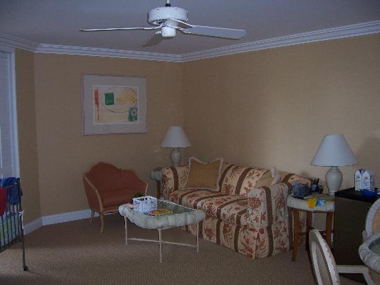 Four Seasons: Living Area of Suite