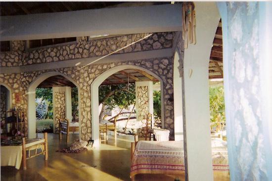 Jackie's on the Reef: the veranda
