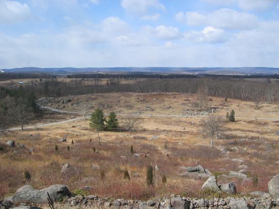 حديقة جيتيسبيرغ الوطنية العسكرية: Gettysburg