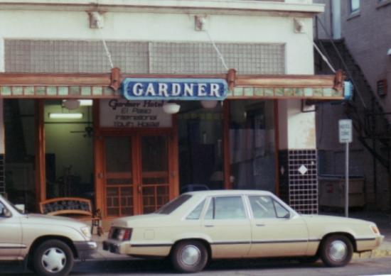 Gardner Hotel: Hotel entrance