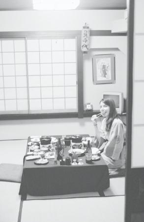 Sukeroku No Yado Sadachiyo: fabulous dinner in a private tatami room