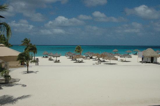 Bucuti & Tara Beach Resort Aruba: 2nd Floor Balcony View