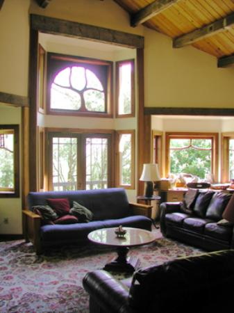 Rosemary Cottages: Fir Tree living room
