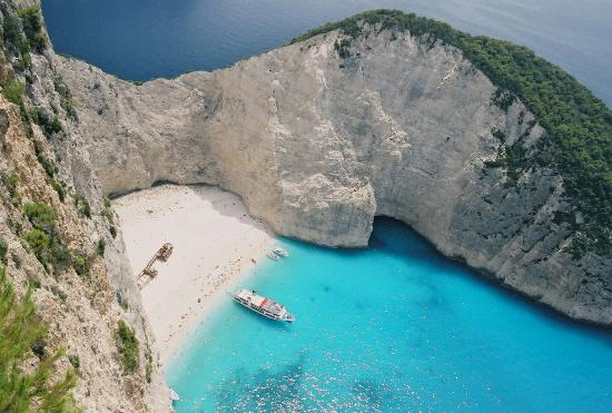 ‪زاكينثوس, اليونان: Ship Wreck Beach Zakinthos Greece‬
