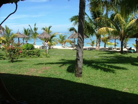 LUX Le Morne: Our view daytime