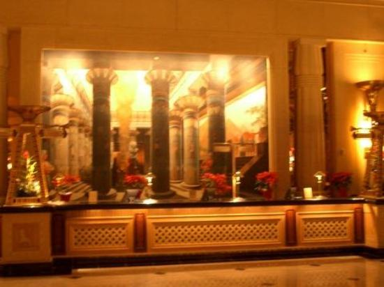 Luxor Las Vegas Paintings Behind The Front Desk