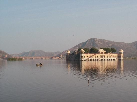 Джайпур, Индия: Jal Mahal (the Water Palace), Jaipur