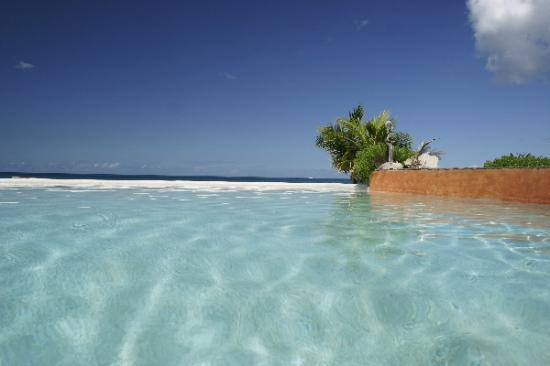 Laluna Boutique Beach Hotel and Villas: View from the pool
