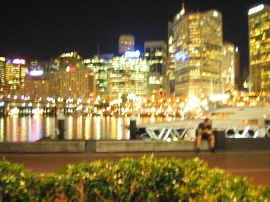 Astral Tower and Residences: view from darling harbour