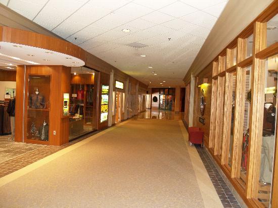 Part of shops