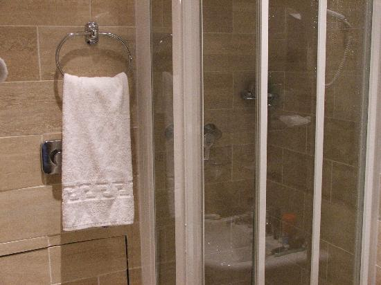 Hotel Elysees Paris: The bathrooms are well-appointed, but small