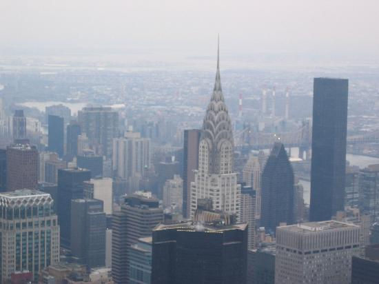 Chrysler Building as seen from ESB