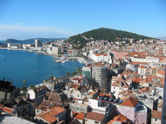 Split, Croatia: View From the Bell Tower