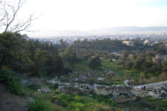 Adrian Hotel : Ancient Agora, one block from hotel