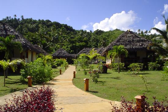 Etu Moana: View of grounds & villas